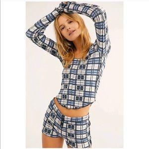 Free people pajama set